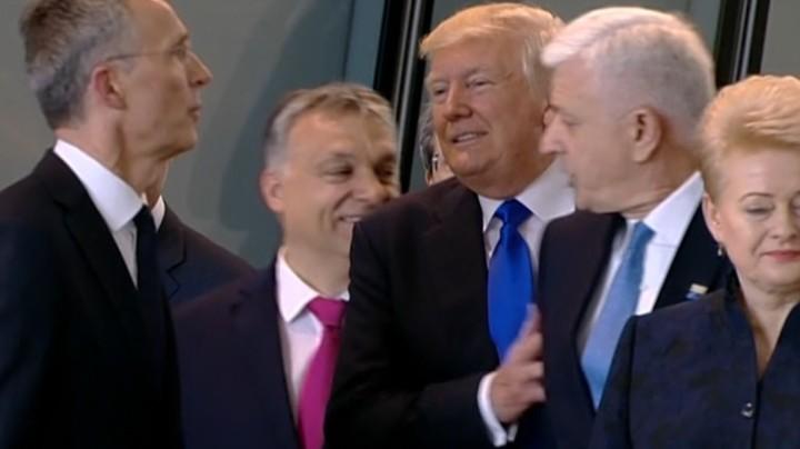 Trump Shove