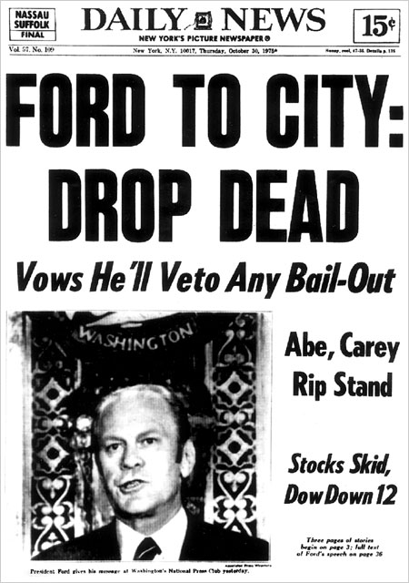 Daily News Drop Dead